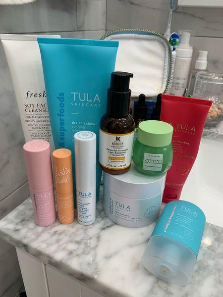 Skincare faves // JENNROG15 gets you a discount for Tula! #southernanchors #keywestblogger   #LTKsalealert #LTKbeauty #LTKunder50