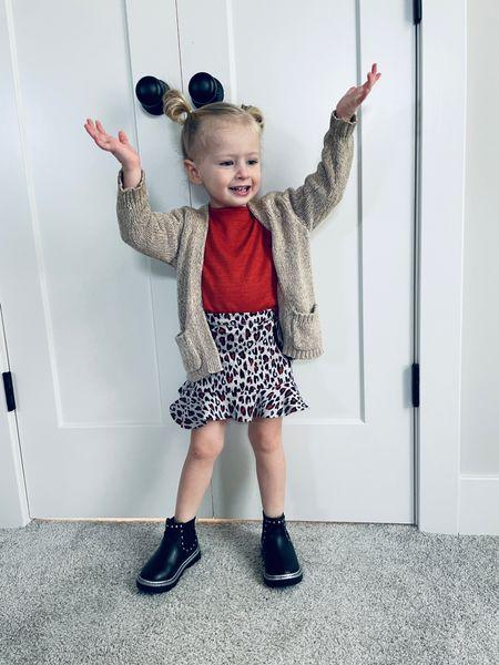 Toddler girl fall outfit from Walmart   #LTKbaby #LTKkids #LTKunder50
