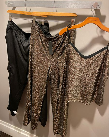 Sequin is ALWAYS in season! I added a little more sparkle to my closet this morning! Y'all know I'll put this on and sip champagne in my living room! Shop your screenshot of this pic with the @liketoknow.it shopping app! #liketkit http://liketk.it/34BTh #LTKNewYear #LTKsalealert #bananarepublic #sequin