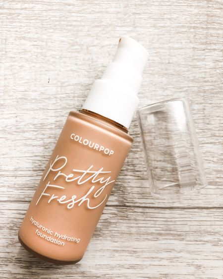 ✨ Currently, I'm crushing on the ColourPop Pretty Fresh Foundation. It's infused with coconut water and hyaluronic acid for extra hydration. The foundation is available exclusively at Ulta for just $16. It's available in 29 different shades and I'm currently wearing Light 60N. I love the ColourPop Pretty Fresh Foundation because it's so lightweight and long-lasting.  #LTKFall #LTKbeauty #LTKunder50