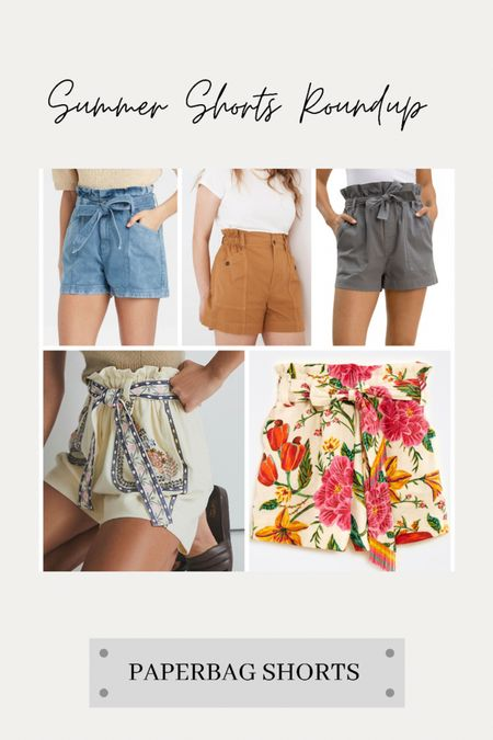 Summer shorts roundup… Sharing a few of our favorite paperbag waist shorts this morning!   #LTKunder100 #LTKtravel #LTKstyletip
