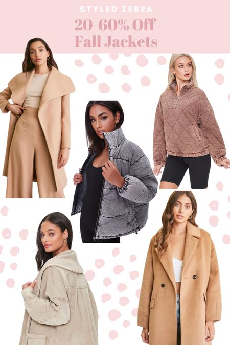 Forever 21 sale. Fall jackets