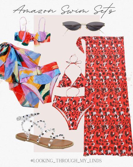 Amazon swimsuit   bathing suit   bikini   coverup   amazon prime day   amazon sale   #LTKsalealert #LTKunder50 #LTKswim