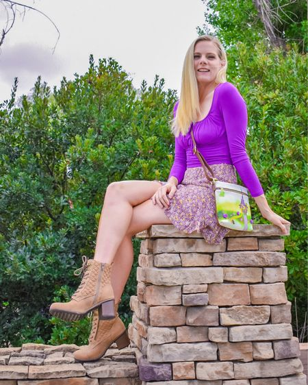 I love Tangled Tuesday - it's just an excuse to post a little Disney Bound styled outfit of Rapunzel. Just a little touch of Disney Princess style into a perfect spring time outfit. #tangled #rapunzel #princess #disney #pinklily #nordstrom #nordstromrack #LTKshoecrush #LTKitbag #LTKstyletip #liketkit @liketoknow.it http://liketk.it/3g7rJ