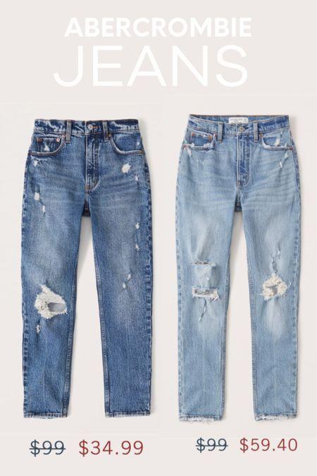 http://liketk.it/3hOjL #liketkit @liketoknow.it #LTKsalealert Abercrombie Jeans