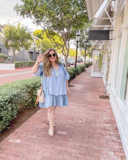Soaking up all those long weekend vibes! This @freepeople tunic is such a fun versatile piece. Dress it up with a pair of heels or dress it down with a pair of sneakers, do a French tuck with a pair of jeans or even wear it as is with some fun booties. This baby is still in stock in xs-m, trust me you won't regret this buy! http://liketk.it/3gqDP #liketkit @liketoknow.it   Shop your screenshot of this pic with the LIKEtoKNOW.it shopping app