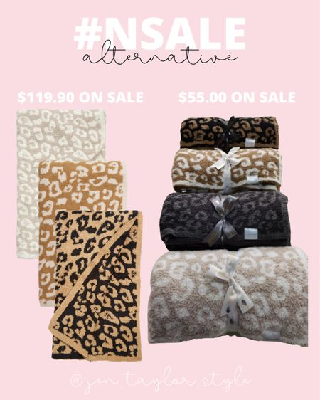 The Barefoot Dreams blankets have been well stocked during the #nsale so far, but these alternative blankets are still on sale for just $55!   #LTKhome #LTKunder100 #LTKsalealert