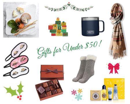 Holiday Gift Ideas all under $50!   #LTKgiftspo #LTKhome #LTKunder50