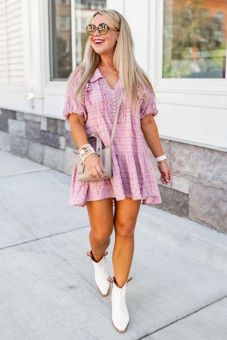 Wearing a size small dress. 💕