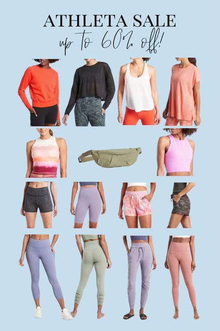 Athleta activewear sale 😍 Up to 60% off summer fitness outfits! Tons of cute and affordable pieces!!   #LTKsalealert #LTKfit #LTKunder100