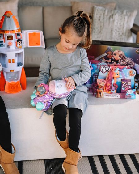 Walmart's top toys for kids chosen by kids for the holidays  Sharing my girls fav from the list and others  Girls clothing runs tts and boots too   #LTKHoliday #LTKGiftGuide #LTKkids