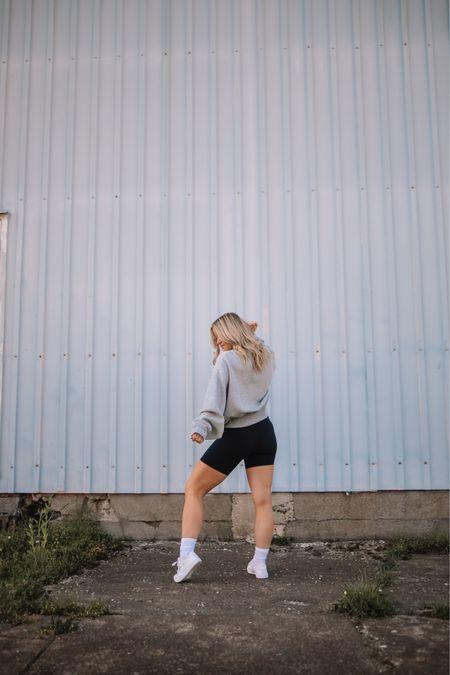 Favorites always on rotation are now on sale in the Anniversary Sale! White sneakers, crewneck, bike shorts, Nordstrom, nsale http://liketk.it/3jBt7 #liketkit #LTKsalealert @liketoknow.it