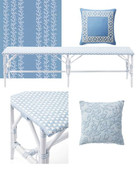 Light blue bedroom decor and wallpaper http://liketk.it/3jjrB #liketkit @liketoknow.it