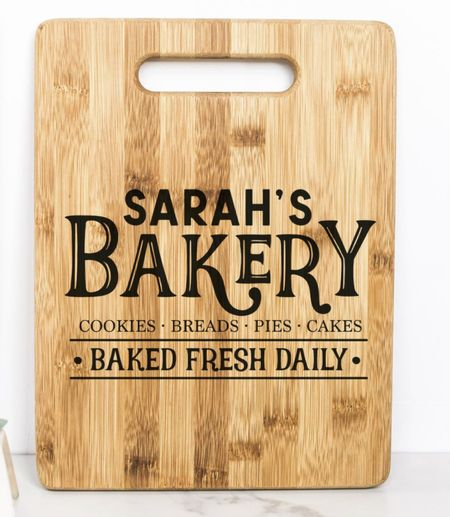 ETSY SMALL BUSINESS SATURDAY • personalized charcuterie board or cutting board for home kitchen decor display   #LTKhome #LTKgiftspo #LTKsalealert