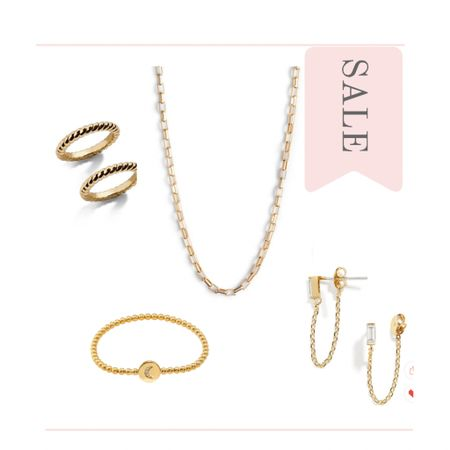 Under $25! Beaded bracelets, stack rings, drop earrings, and box chain necklaces. Don't miss the deals on jewelry during The Nordstrom Half Yearly Sale. Accessors for weddings and everyday outfits.  #kimbentley #jewelry #MemorialDaySale  #LTKunder50 #LTKsalealert