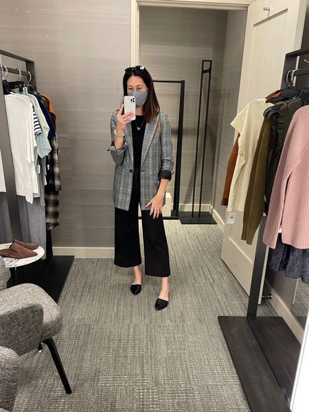 """Nordstrom shop appointment with my petite 5'4"""" client - layers, tops"""