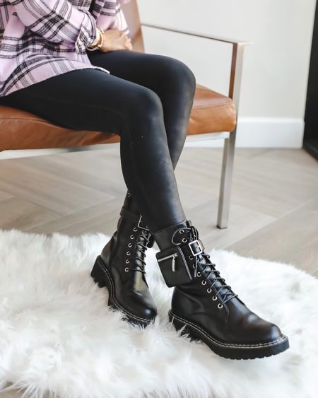 Rounding up my favorite statement boots for fall…as a girl whose worn combat boots for years…I was looking for something unique this year… these are the most insane and gorgeous pair  Removable pouch  and runs tts  With or without the pouch incredible  Best of the season  Nordstrom fall boots    #LTKstyletip #LTKshoecrush #LTKGiftGuide