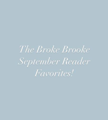 The Broke Brooke September Reader Favorites!   #targetfinds #amazonfinds #walmartfinds #targetdresses #falldresses