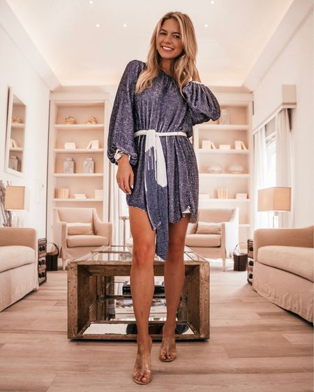 Holiday Christmas party outfit guide, retrofete dress, sequin dress, NYE outfits, New Year's Eve outfit, sequin wrap dress. http://liketk.it/2HKAR #liketkit @liketoknow.it #LTKholidaystyle #LTKstyletip