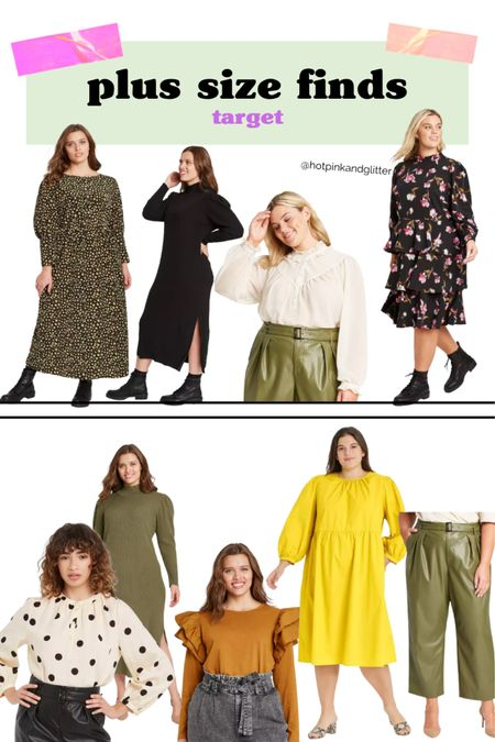 Perfect for work or play these plus size looks from target are so cute! Love the dresses and the tops   #LTKcurves