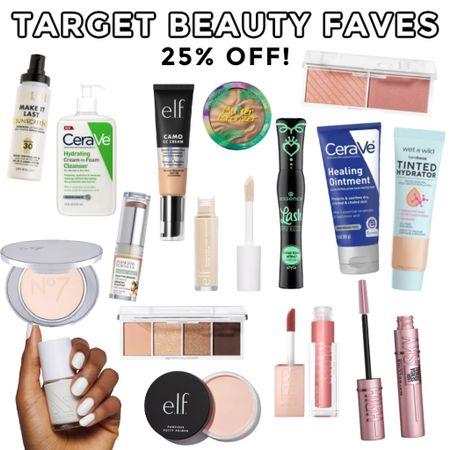 Target beauty deals- 25% off! All of my holy grail drugstore beauty items http://liketk.it/3i5hd #liketkit @liketoknow.it #LTKbeauty #drugstoremakeup #drugstoreskincare #drugstorebeauty