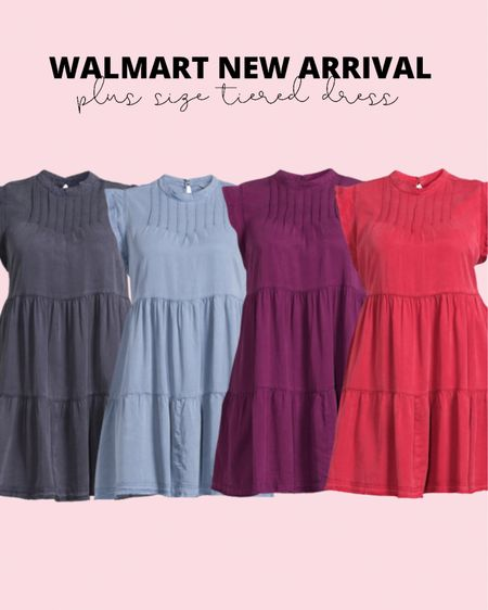 These plus size tiered dresses have been a top seller! Pair them with sneakers or wedges for a cute plus size summer outfit!   #LTKstyletip #LTKunder50 #LTKcurves