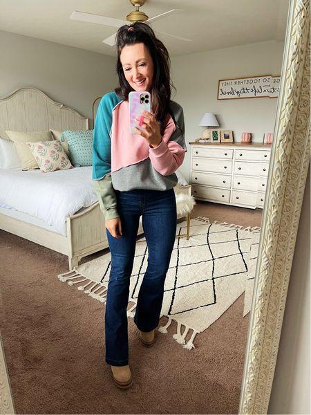 An awesome comfy sweatshirt from Target for under $30! In a size medium   #LTKstyletip #LTKSeasonal #LTKunder50
