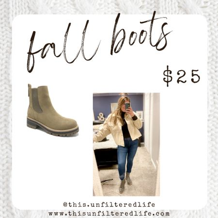 Affordable and stylish fall boots from Walmart #walmartfinds #walmartfashion #chelseaboot  Follow my shop on the @shop.LTK app to shop this post and get my exclusive app-only content!  #LTKstyletip #LTKshoecrush #LTKSeasonal