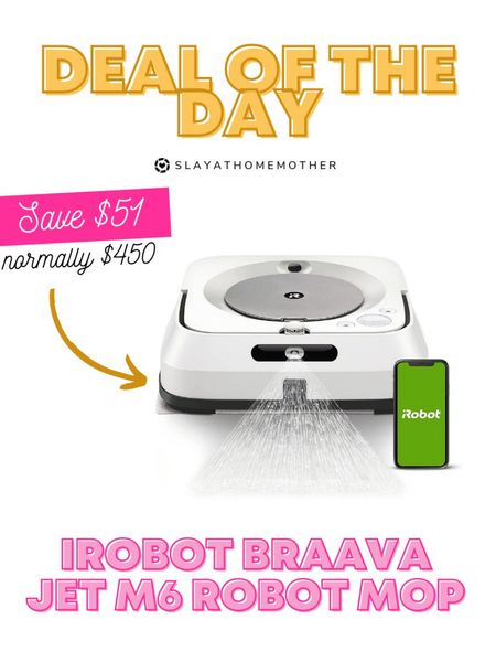 Deal of the day on this robot mop!   Walmart home, target home, cleaning, clean home, dream home, under 50, daily deals, 5 stars, amazon finds, amazon deals, daily deals, deal of the day, dotd, bohemian, farmhouse decor, farmhouse, living room, master bedroom, home cleaning, home organization   💕Follow for more daily deals, home decor, and style inspiration 💕  #LTKfamily #LTKsalealert #LTKhome