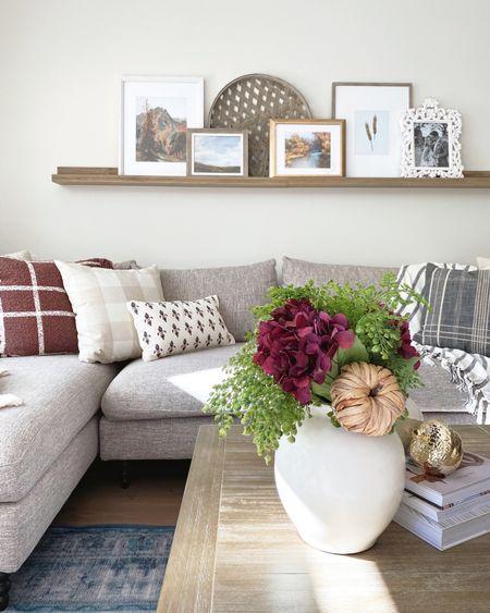 Throw back to last year's fall living room decor!     #LTKhome #LTKSeasonal