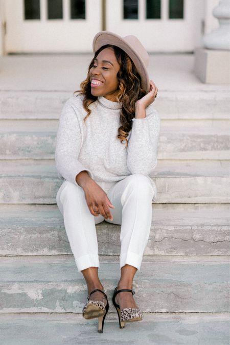 Winter whites for the win!   #LTKSeasonal #LTKworkwear #LTKstyletip