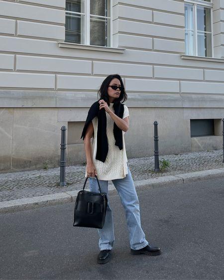 transitional knitwear  #streetstyleinspo #grwm #minimalstyledaily #stylinginspiration #instafashionblogger #knitwear #parisianstyle #minimalstreetstyle #minimaloutfit #parisienne #discoverunder100k #streetstyle   #LTKeurope #LTKSeasonal