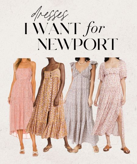 Traveling to Newport, RI in a few weeks & these are some dresses I have my eye on 👀