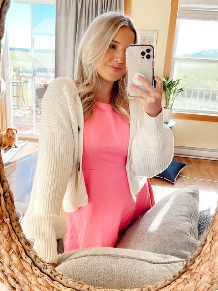 This sweater is on sale online today & this dress is a couple years old but linking some similar ones!   #LTKsalealert #LTKunder100 #LTKwedding