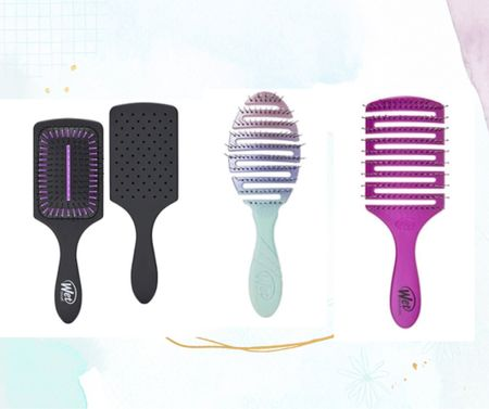 The best low cost detangling brushes for wet hair. The vented ones are great for cutting down dry time. ♥️♥️♥️ affiliate links  #LTKunder50 #LTKbeauty #LTKstyletip