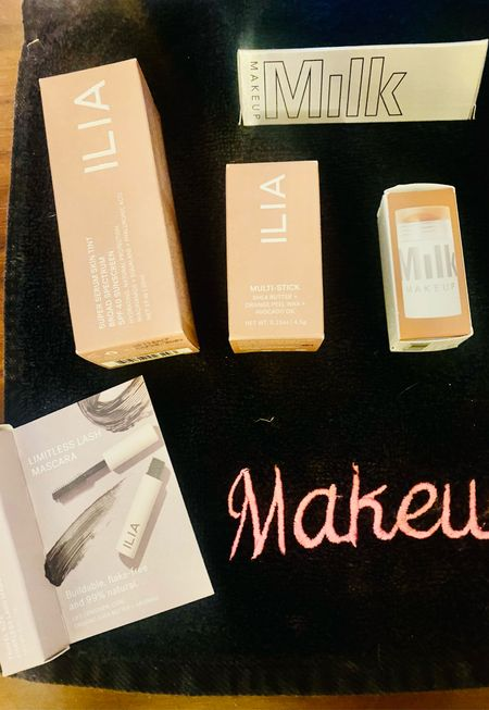 New clean beauty stuff I bought at Sephora today to try!       #LTKbeauty