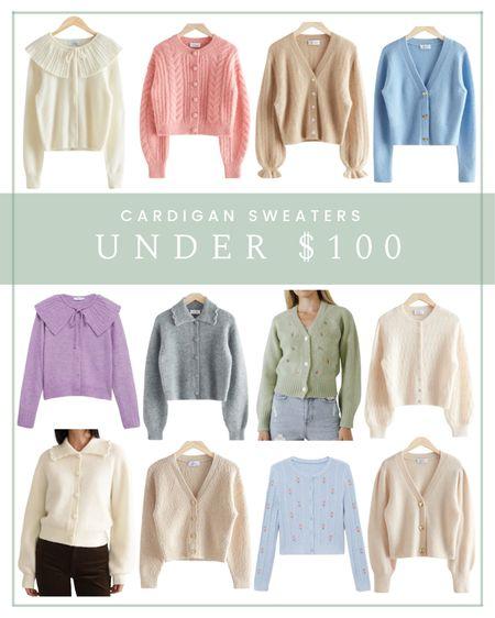 Cardigan sweaters under $100   #LTKunder100 #LTKSeasonal #LTKSale