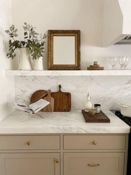 Marble countertops. #kitchenreno #marblecountertops   #LTKhome #LTKstyletip