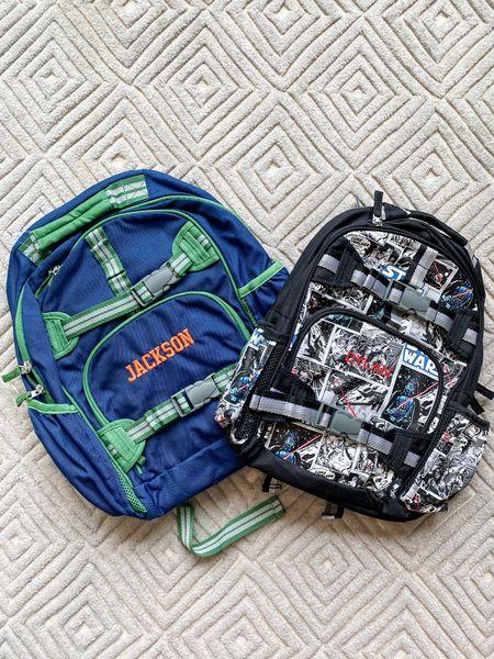 Backpacks have arrived! We are ready for back-to-school season  Back to school // backpacks for boys // Pottery Barn Kids // Star Wars backpack  #LTKunder100 #LTKfamily #LTKkids