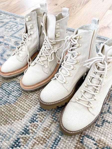 LOOK FOR LESS: Dolce Vita Hiking Boot: $200 Target Hiking Boot: $40   #LTKunder50 #LTKshoecrush #LTKstyletip