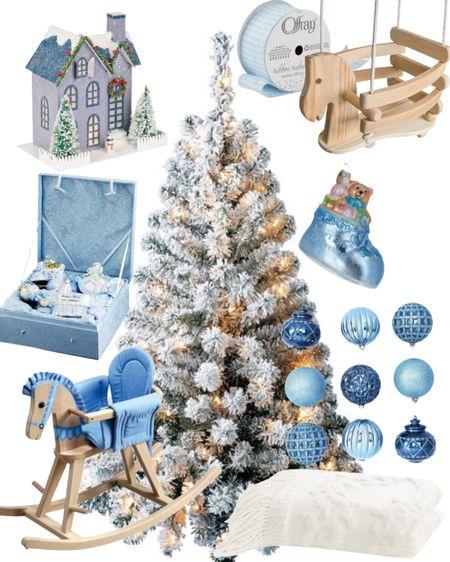 Baby Boy Christmas tree! #babyboy #rockinghorse #Swing #ChristmasOrnaments #ChristmasTree #BabyBoy #GiftGuide #GiftsForBoys #GiftsForBabies #Ornaments #Babysfirstchristmas   #LTKGiftGuide #LTKHoliday #LTKSeasonal