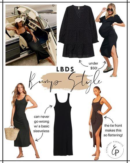 Littl black dress - bump style!! http://liketk.it/3hcio #liketkit @liketoknow.it #LTKbaby #LTKbump #LTKfit