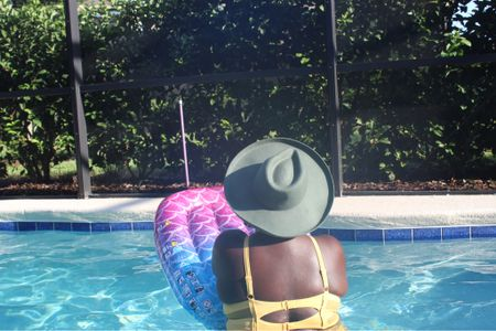 Sunscreen, hats, and water floats to end out summer vibes. Target is always a go to for fashionable hats and pool needs  #LTKSeasonal #LTKswim #LTKcurves