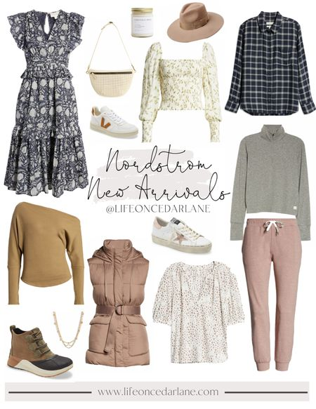 Nordstrom must haves for fall!! Cozy joggers and cute sneakers!   #nordstrom #fallstyle  #LTKstyletip #LTKSeasonal