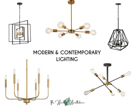 Modern & Contemporary Lightning.  Way Day.  Chandelier. Lighting.  Home Decor.  Accents.  Black.  Gold.  Lighting.  Brass.  Sale.  Discount.  Sputnik.  Bulbs.  Glass. Globes.  Globe Lights.  Ceiling lights.  Sphere lighting.  Candle lighting.  Lantern chandelier.  Geometric.    #LTKsalealert #LTKhome #liketkit @liketoknow.it.home @liketoknow.it http://liketk.it/3e6k4