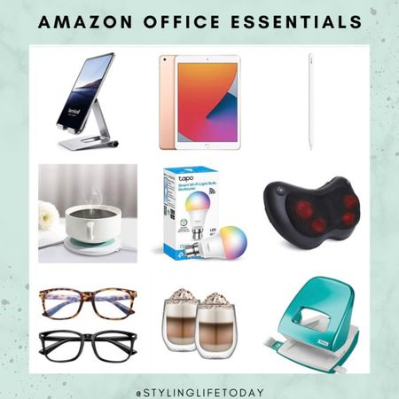 Office essentials. Ipad. Apple pencil. Amazon home. Work from home. Wfh. Office.  #LTKbacktoschool #LTKhome #LTKeurope