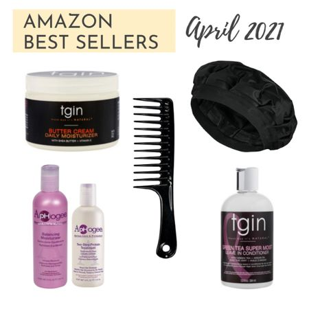 Several of the items my followers bought on Amazon during April - TGIN, Aphogee, deep conditioning cap, seamless comb. #relaxedhair #healthyhair  http://liketk.it/3dULA #liketkit @liketoknow.it   #LTKbeauty