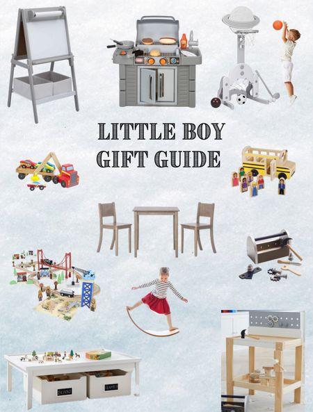Little Boy Christmas Gift Guide.  #LTKGiftGuide #LTKHoliday #LTKkids