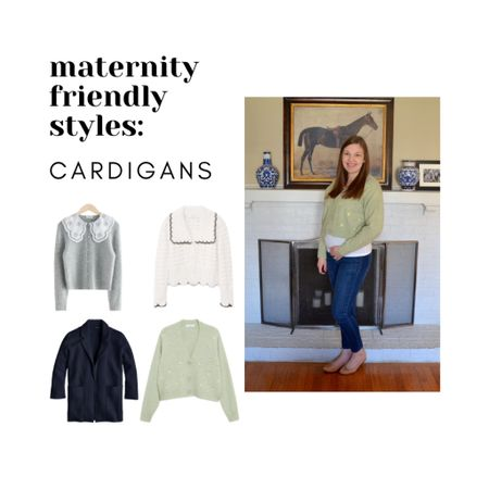 Maternity Style: CARDIGANS  Non-maternity pieces for during and after pregnancy.   #LTKbump #LTKstyletip #LTKunder100