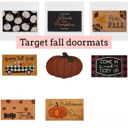 Target fall doormats   #LTKSeasonal #LTKhome #LTKunder50